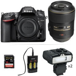 Nikon D Dslr Camera With 105mm Macro Lens Dental Kit