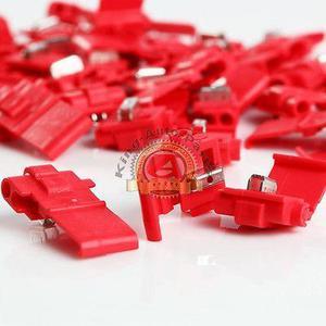 Nuevo 3 M  Calibre Doble Hoja Scotch Lok, Rojo 3 M # 5