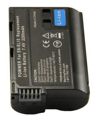 Stk Nikon En-el15 Batería Para Cámaras Nikon D,