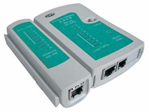 Tester De Red Probador Redes Rj45 Rj11 Utp Telefonia Cable