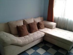 Venta mobiliario para Sala en Forma de L con mesa de centro