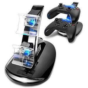 Cargador Cestore® Dual Usb Para Controles De Xbox
