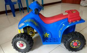 Carro Electrico Cuatrimoto para Niños