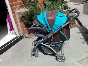 Coche para silla para auto como nuevos posot class for Coches para bebes con silla para auto