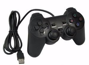 Control Juegos Pc Gamepad Usb Dual Shock Tipo Ps2 Vibración