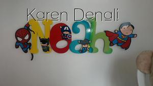 Letreros Nombres Infantiles Arte Country