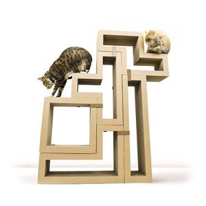 Arbol Para Gato Katris: Cat Scratcher / Modular Furniture /