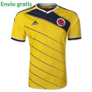 Camiseta Seleccion Colombia  Original Amarilla E Gratis