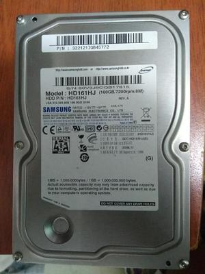 Disco Duro para Escritorio 160gb Samsung