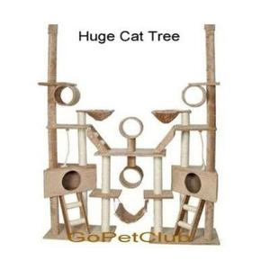 Gopetclub Huge Cat Tree Furniture Cando Bed House Pet