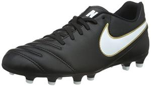 Guayos Nike Tiempo Color Negro Clasico Talla 9.5 Us