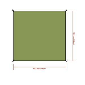 Impermeables Yedge Para Carpas Color Verde