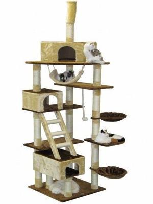 Ir Club Mascota Gato Árbol 108 Pulgadas