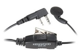 Manos Libres Kenwood Khs26 Con Micrófono Para Radio