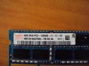 Memorias DDR3 portátil y pc de 2, 4 gigas.