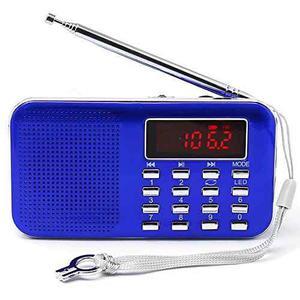 Mifine Mini Digital Am / Fm De Radio De Bolsillo Moda Son...