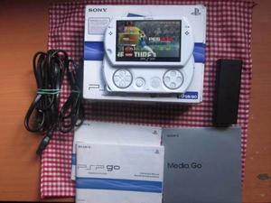 Psp Go Blanca En Caja 16gb Con 45 Juegos 5 Emuladores