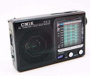 Radio Fm Cm1k Kk-9 V Bandas Frecuencia Receptor De Audio