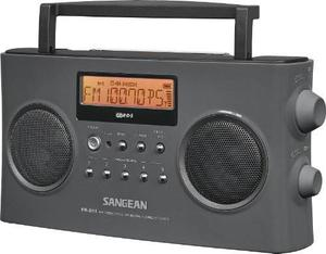 Radio Sangean Pr-d15 Fm-stereo/am Recargable Portátil Gris