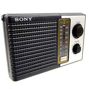 Radio Sony Icf-f10 2 Bandas Fm/am Portátil