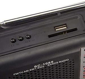 Radio Supersonic Sc- Bandas Am/fm/sw1/sw2/tv