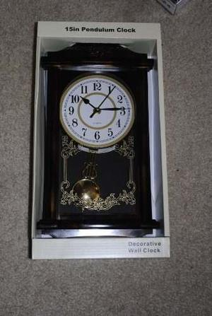 Reloj De Pared De Péndulo My Home Products