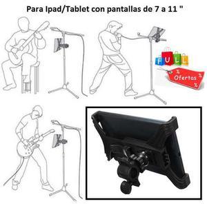 Soporte Universal Pedestal Soporte De Micrófono Ipad Tablet