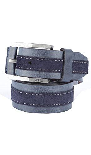 Cinturon Velez En Cuero Para Hombre