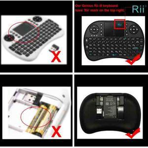 I8 De Rii Mini Wireless Keyboard Con Touchpad Para Pc Andro