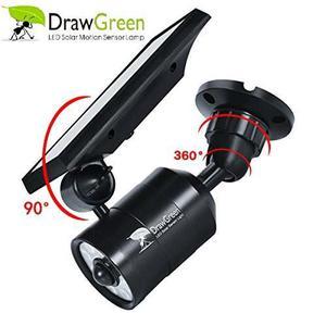 Sensor De Movimiento Drawgreen Con Luz Solar