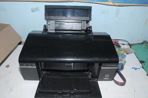 Impresora Epson T50 Con Sistema De Tinta +bandeja- Perfecta!