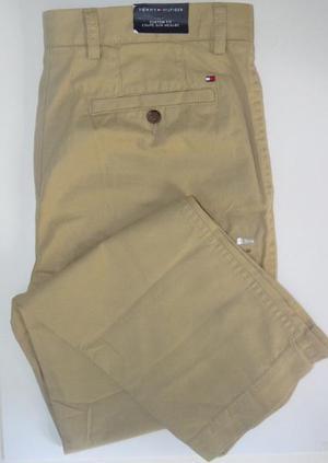 Pantalon Drill Hombre Tommy Hilfiger Original