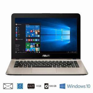 Portatil Asus 500gb 4 Ram Bluetooth Windows 10 Usb 3 Usb C