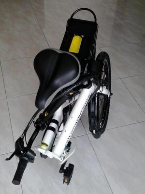 Bicicleta Eléctrica Plegable Marca El Tomacorriente