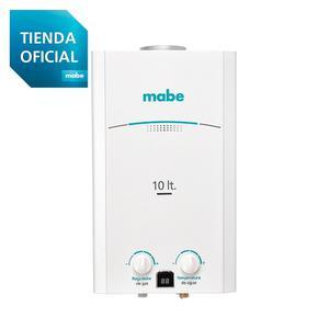 Calentador De Agua Tiro Natural Mabe 10lts Blanco Cmp10tnbc