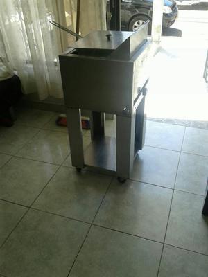 W 12 litros contador freidora doble posot class for Freidoras bogota