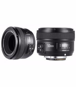 Lente Yongnuo Fijo Yn 50mm 1.8 Para Nikon D800 D D