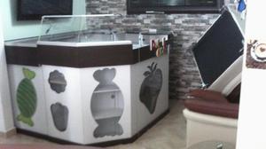 Mueble para Obleas Mango Demostración.