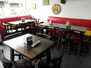 Mesas en madera ideal para negocio cali posot class for Muebles para negocio