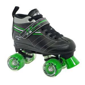 Patín De Velocidad Láser Quad De Roller Derby Boy,