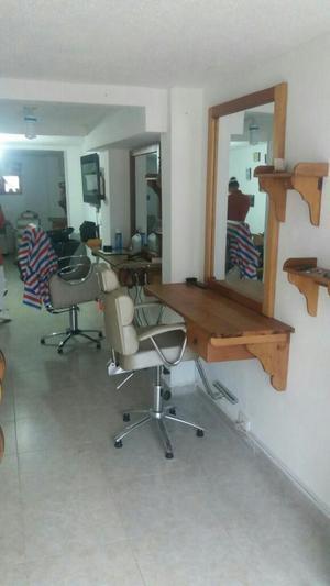 Puesto para Barberia de Lujo, Como Nuevo