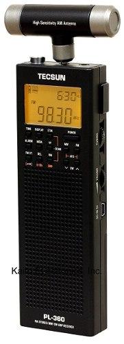 Radio Onda Corta Tecsun Pl-360 Digital Pll Portable Am/fm