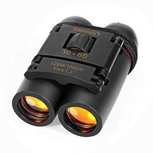 Telescopio Binoculares 30x60 Aurosports Plegable Con Visión
