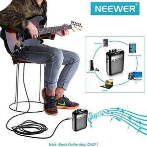 Amplificador De Guitarra Electrónica Neewer Portátil