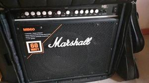 Amplificador Marshall Mb60 Híbrido Bajo Eléctrico
