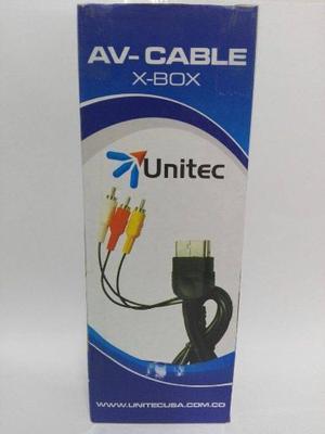 Cable Audio/video Para Consola Xbox Clásico