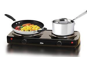 Elite De Cocina Edb-302bf Maxi-matic Eléctrico Doble Buffet