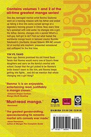 Manga Ranma 1/2 2-en-1 Vol 1 Includes Vols1 Amp; 2