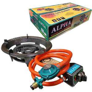 Quemador De Gas Propano Estufa Fogon Industrial Alpha Usa