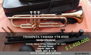 Trompeta Yamaha Usada
